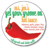 Ms Jen's Get Your Groove On Hot Sauce